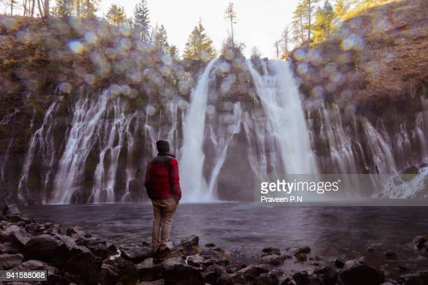 mcarthur–burney falls memorial state park - natural landmark stock pictures, royalty-free photos & images