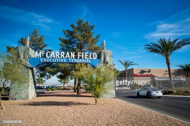 mccarran field executive terminal, las vegas - mccarran international airport stock photos and pictures