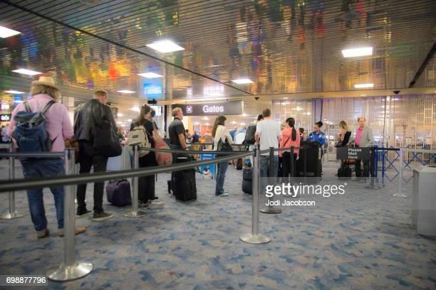 McCarran International Airport, Las Vegas TSA security checkpunkt