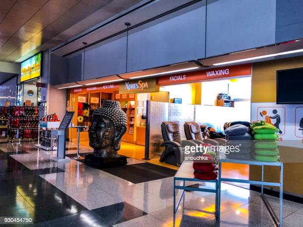 mccarran international airport, las vegas, usa - mccarran international airport stock photos and pictures