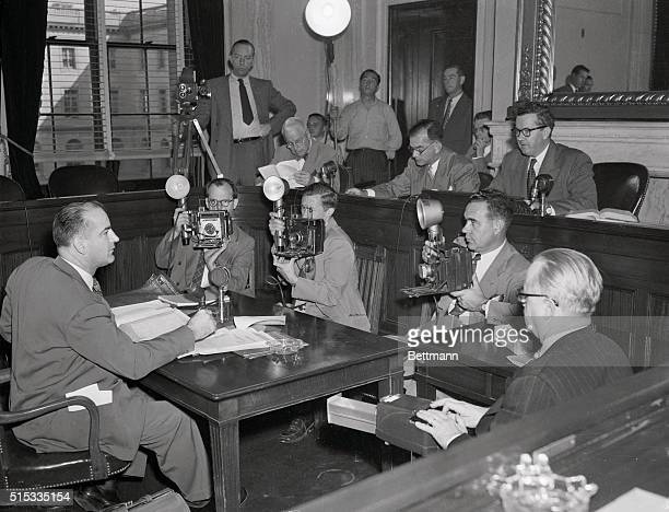 McCarthy Opposes Jessup Nomination. Washington, DC: Senator Joseph R. McCarthy , testifying before the Senate Foreign Relations Subcommittee on the...