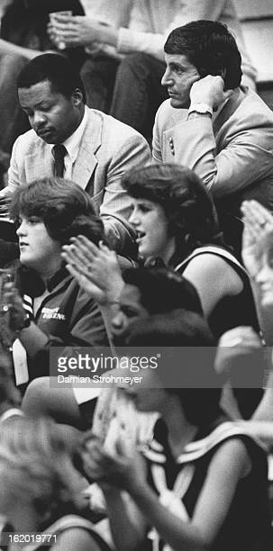 DEC 19 1982 McCartney and Caldwell watch Rod Bernstein play basketball It's the little things