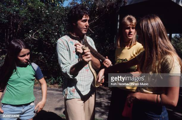 McCartney family at Lone Pine Koala Sanctuary November 11 Brisbane AUnited Statestralia Paul McCartney Linda McCartney