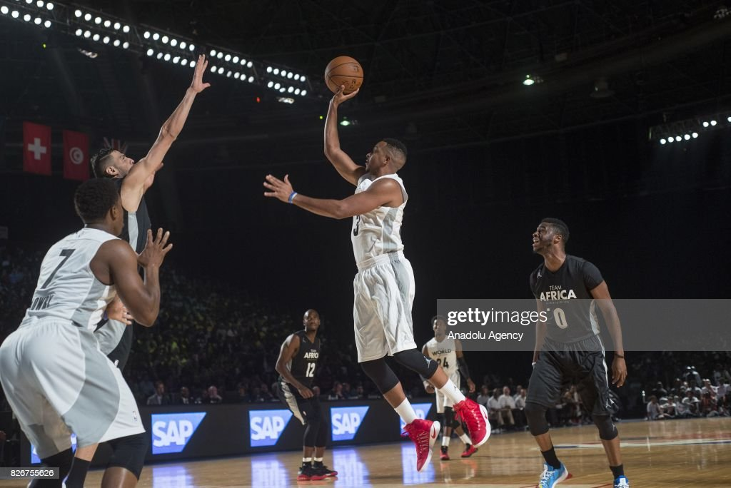 2017 NBA Africa Game : News Photo