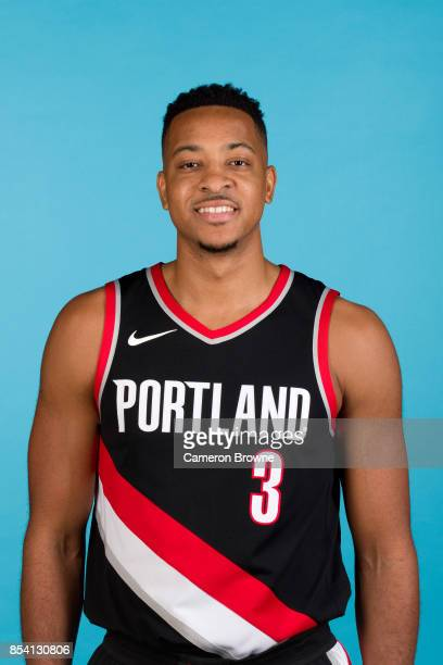 McCollum of the Portland Trail Blazers poses for a head shot during media day on September 25 2017 at the Moda Center Arena in Portland Oregon NOTE...