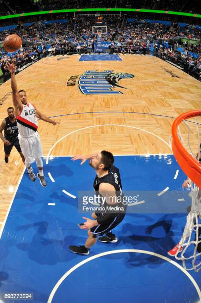 McCollum of the Portland Trail Blazers shoots the ball against the Orlando Magic on December 15 2017 at Amway Center in Orlando Florida NOTE TO USER...