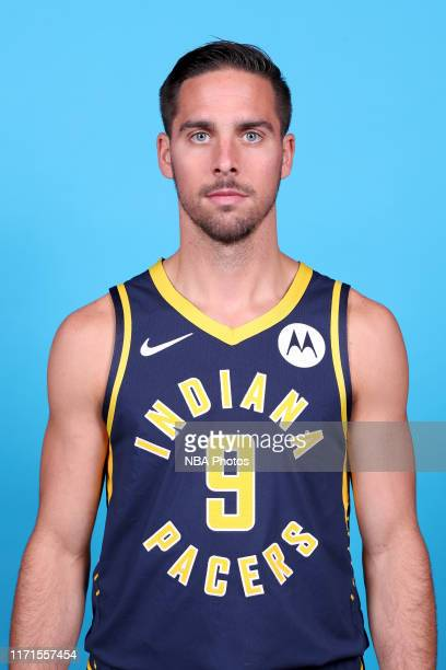 McConnell of the Indiana Pacers poses for a head shot during media day on September 27, 2019 at Bankers Life Fieldhouse in Indianapolis, Indiana....