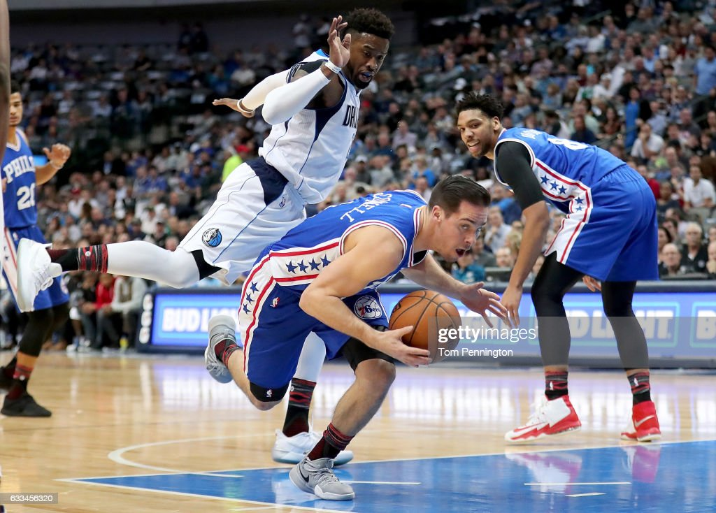 Philadelphia 76ers v Dallas Mavericks