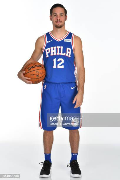 McConnell of the Philadelphia 76ers poses for a portrait during 201718 NBA Media Day on September 25 2017 at Wells Fargo Center in Philadelphia...
