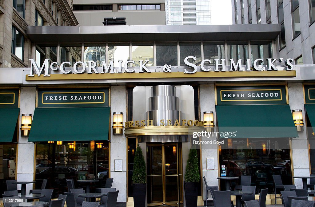 Mccormick Schmick S Seafood Restaurant In Chicago Illinois On March
