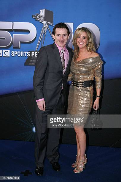 McCoy and Wife Chanelle arrive at the BBC Sports Personality Of The Year 2010 Awards at the LG Arena on December 19, 2010 in Birmingham, England.