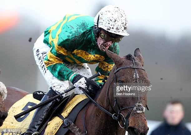 McCoy riding Upswing in action during the Betfair Handicap Hurdle at Newbury Racecourse on February 8 2014 in Newbury England
