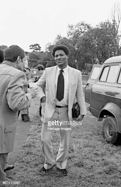 McCoy Tyner, Capital Jazz, Knebworth, Hertfordshire, July, 1981. Artist Brian O'Connor.