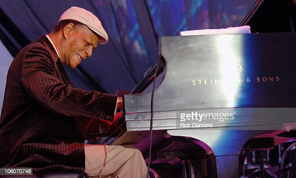 McCoy Tyner during 29th Annual Atlanta 2006 Jazz Festival Day 1 at Piedmont Park in Atlanta Georgia United States