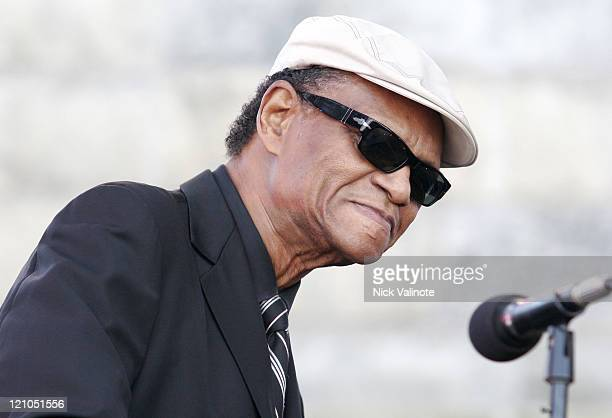 McCoy Tyner during JVC Newport Jazz Festival 2006 at Fort Adams State Park in Newport, RI, United States.