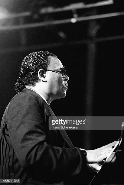 McCoy Tyner piano performs at the North Sea Jazz Festival in the Hague the Netherlands on 12 July 1990