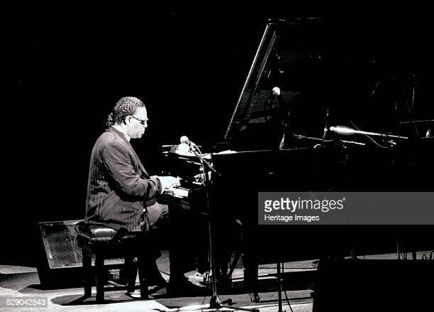 McCoy Tyner, Royal Festival Hall, London, 1990. Image by Brian O'Connor.