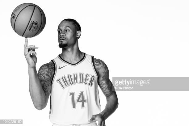 McDaniels of the Oklahoma City Thunder poses for a portrait during media day at Chesapeake Energy Arena in Oklahoma City Oklahoma on September 24...