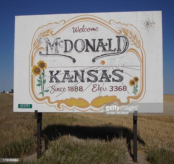 CONTENT] McDonald Kansas is a tiny town located in western Rawlins County between Atwood and Saint Francis along U