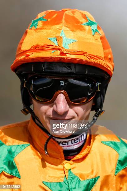 McDonald poses at Newmarket racecourse on April 17 2018 in Newmarket England