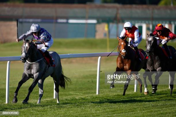 McDonald riding Havana Grey win The better Odds With Matchbook National Stakes at Sandown Park on May 25 2017 in Esher England