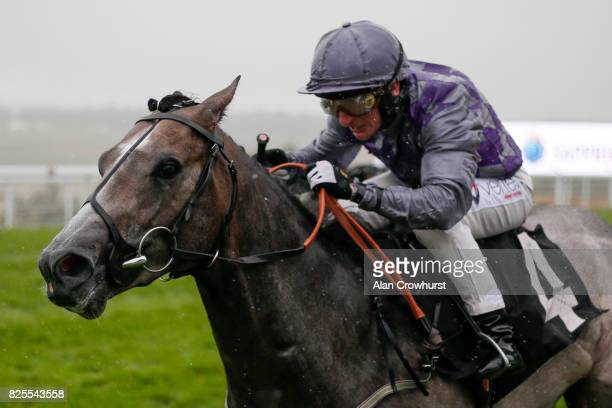 McDonald riding Havana Grey win The Bombay Sapphire Molecomb on day two of the Qatar Goodwood Festival at Goodwood racecourse on August 2 2017 in...