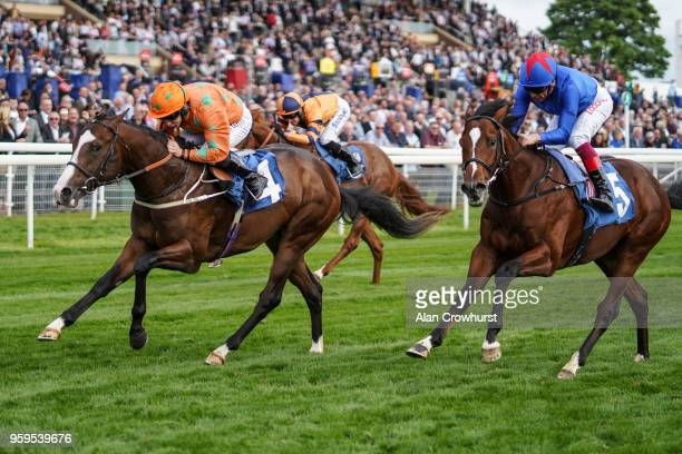 McDonald riding I Am A Dreamer win The Stratford Place Stud Breeds Group Winners EBD Stallionscom Maiden Stakes at York Racecourse on May 17 2018 in...