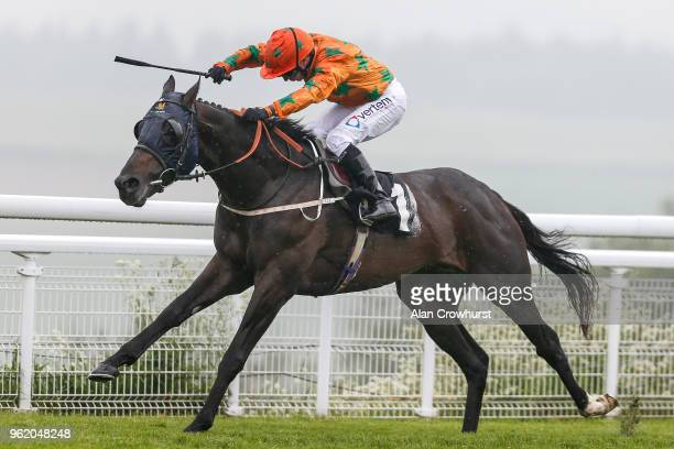 McDonald riding Love Dreams win The South Downs Water Handicap Stakes at Goodwood Racecourse on May 24 2018 in Chichester United Kingdom