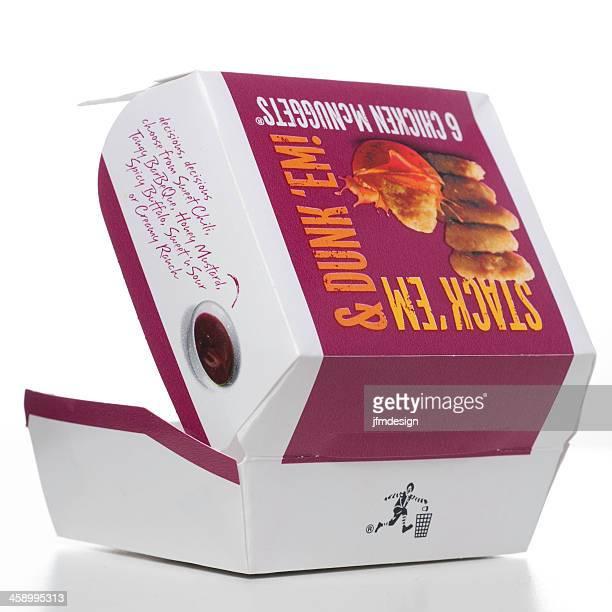 McDonalds 6 Chickens McNuggets box