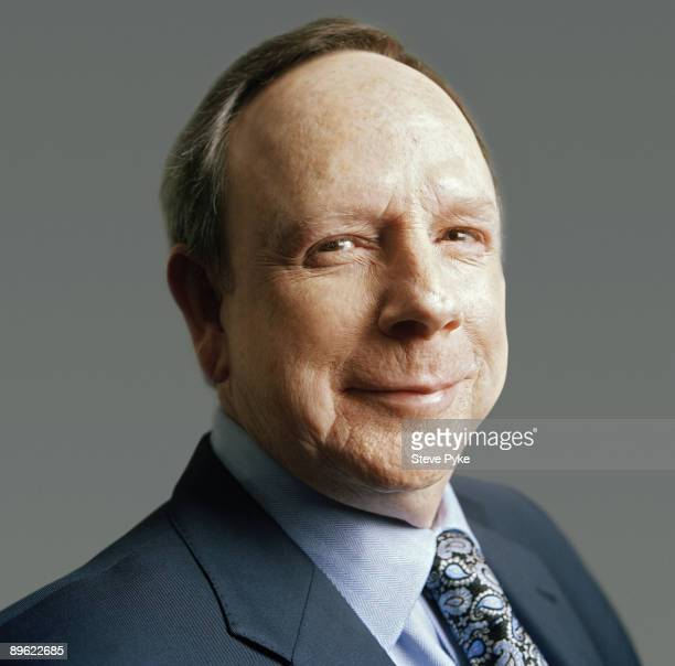 McDonald's CEO Jim Skinner poses at a portrait session