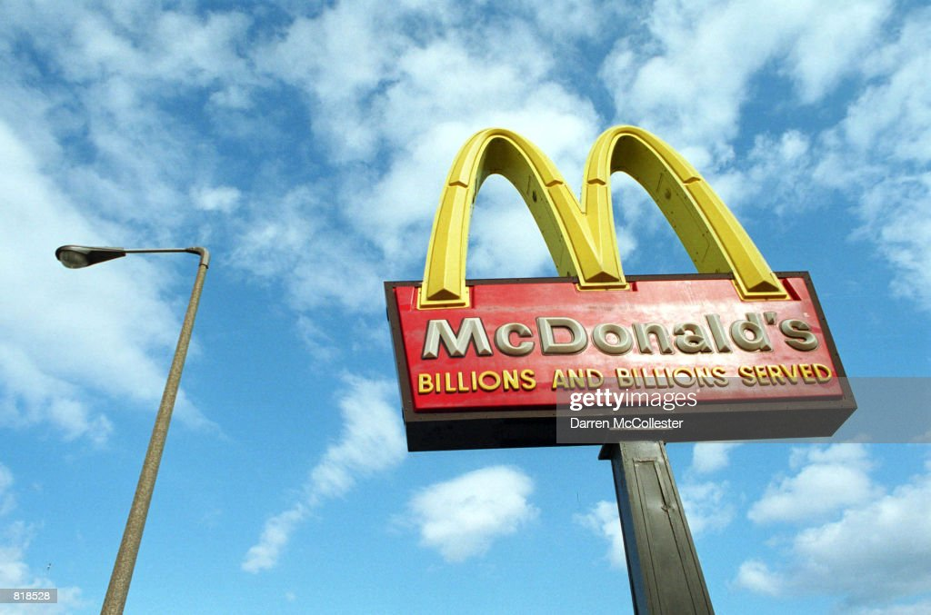 McDonald's Earnings Fall Over Mad Cow Scare : News Photo