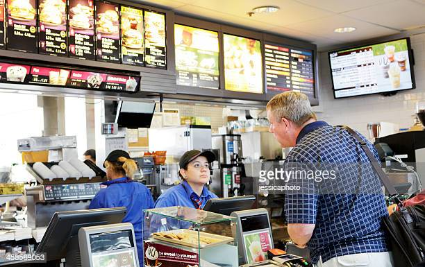 mcdonald's fast food - mcdonald's stock photos and pictures
