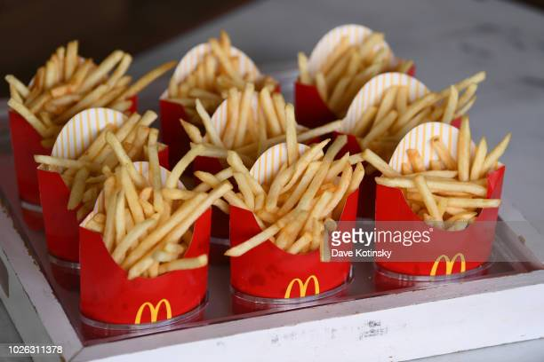 McDonald's fries are offered at McDonald's at Made In America Festival on September 2 2018 in Philadelphia Pennsylvania