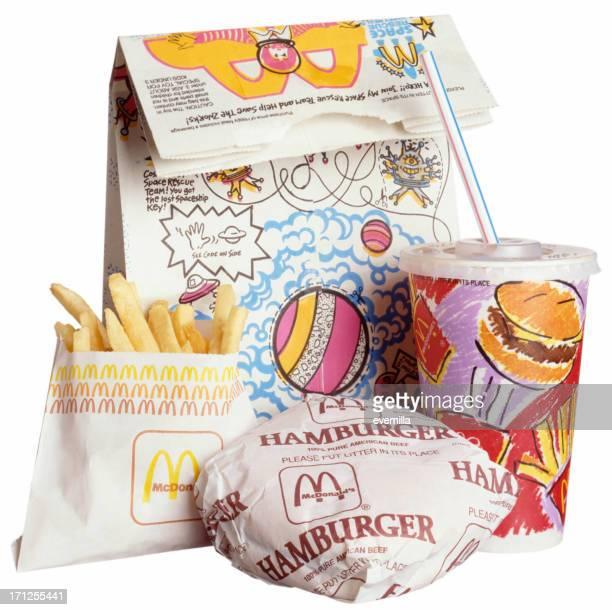 マクドナルドでのお食事にホワイト - マクドナルド ストックフォトと画像