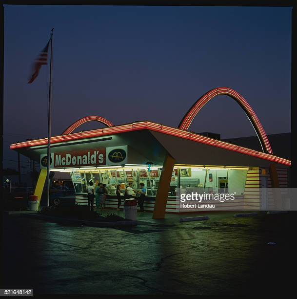 mcdonald's in downey - mcdonald's stock pictures, royalty-free photos & images