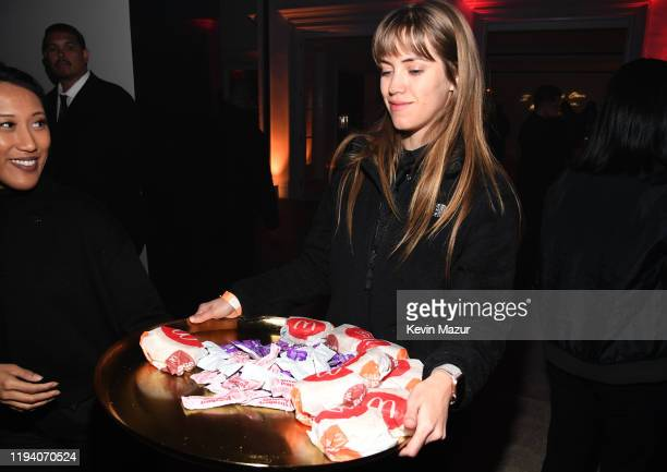 McDonald's is served during Sean Combs 50th Birthday Bash presented by Ciroc Vodka on December 14 2019 in Los Angeles California