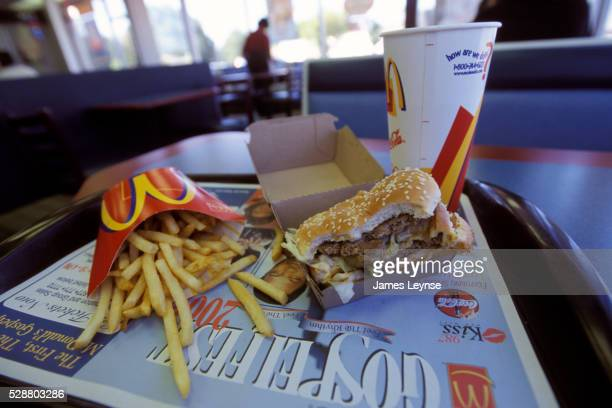 mcdonald's meal - mcdonald's stock pictures, royalty-free photos & images