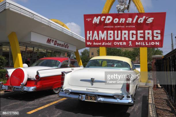 McDonalds number 1 and museum from 1955