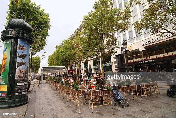 McDonalds sur les Champs-Élysées à Paris