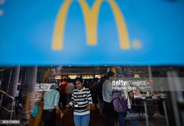McDonald's outlets to shut down on June 29 2017 in New Delhi India In an unprecedented move the infighting between Connaught Plaza Restaurants the...
