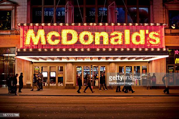 mcdonalds - mcdonald's stock pictures, royalty-free photos & images