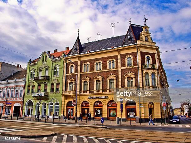 McDonald's restaurant in Debrecen, Hungary.