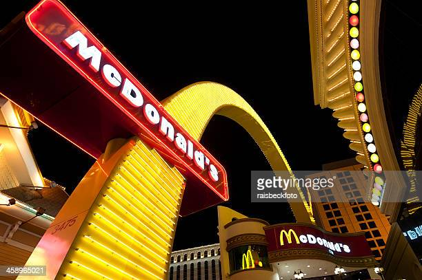 mcdonald's restaurant in las vegas, nevada - mcdonald's stock photos and pictures