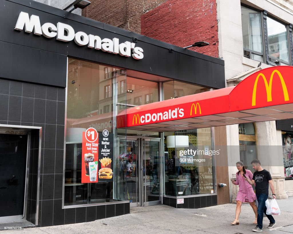 Mcdonalds Restaurant In Union Square In New York City News Photo