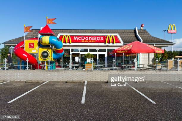 mcdonald's restaurant # 3 xxl - mcdonald's stock pictures, royalty-free photos & images