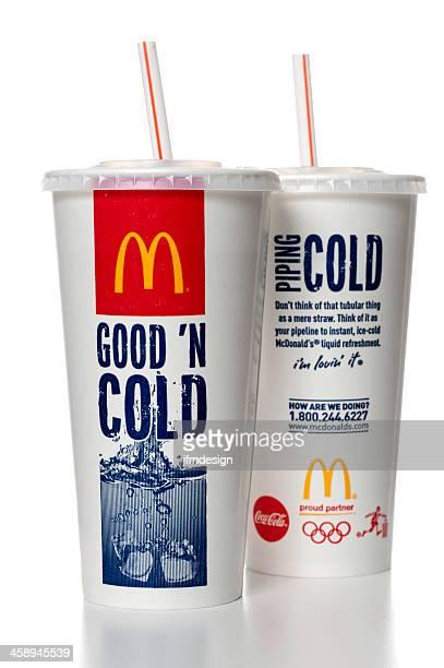 McDonalds soda cups