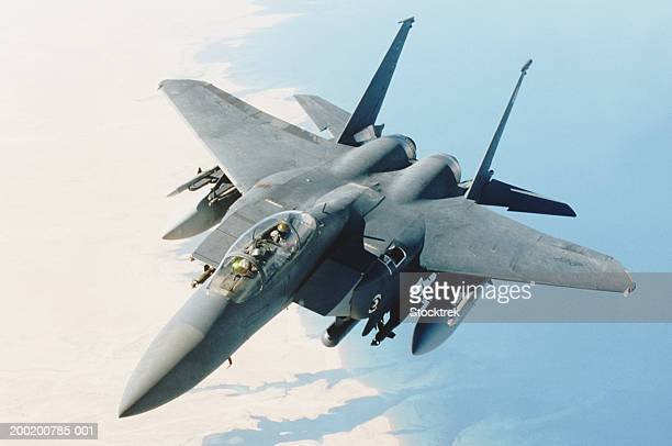 McDonnell Douglas F-15 Eagle in flight during combat mission
