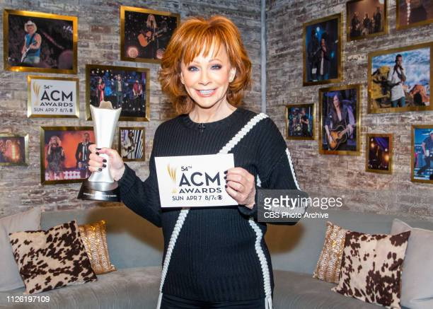 McENTIRE ANNOUNCES NOMINEES FOR THE 54TH ACADEMY OF COUNTRY MUSIC AWARDS ON CBS THIS MORNING FEB 20 IN THE 800 AM ET HOUR