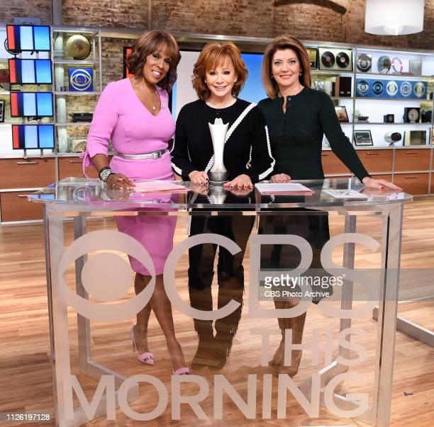 McENTIRE ANNOUNCES NOMINEES FOR THE 54TH ACADEMY OF COUNTRY MUSIC AWARDS ON CBS THIS MORNING with CBS This Morning CoHosts Gayle King and Norah...