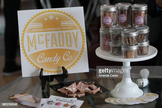 McFaddy Candy Co at New Faces at TAP The Artists Project on October 18 2017 in Los Angeles California